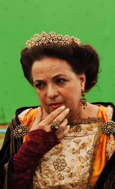 Camilla como Rainha, no Sítio do Picapau Amarelo, 2007 Foto: TV Globo / João Miguel Júnior