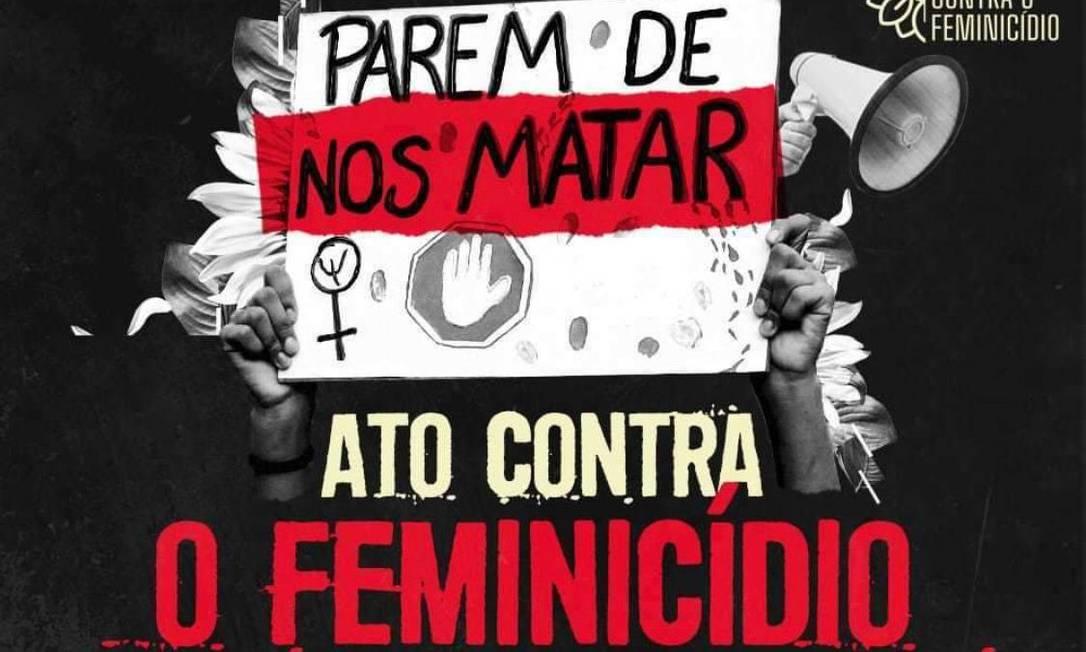 Cartaz do protesto marcado para esta segunda-feira Foto: Divulgação