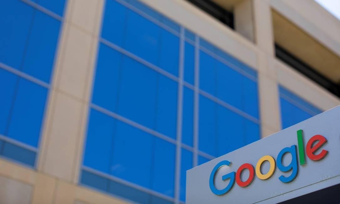 Fachada de prédio do Google em Irvine, na Califórnia Foto: Mike Blake/Reuters