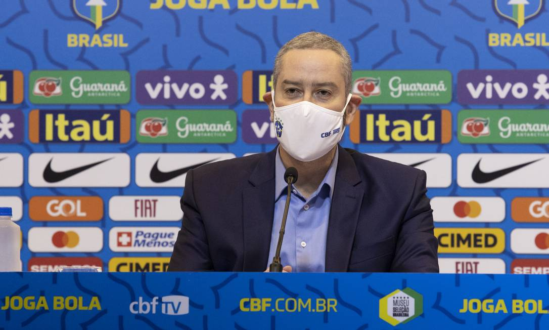 Rogério Caboclo foi afastado da presidência da CBF Foto: Lucas Figueiredo/CBF/Divulgação