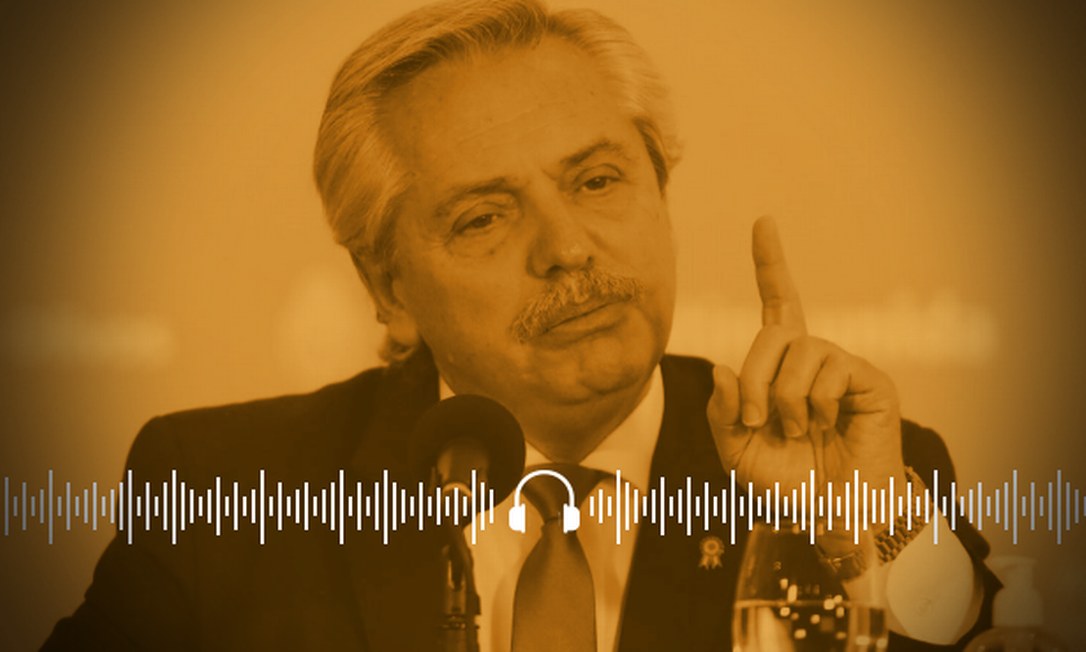 Presidente argentino Alberto Fernandez rejeita mudanças em regras do Mercosul Foto: Arte