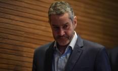 Rogério Caboclo é acusado de assediar sexualmente uma funcionária da CBF Foto: MAURO PIMENTEL / AFP