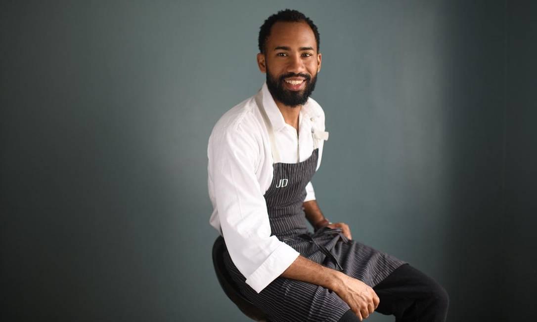 O chef João Diamante Foto: Lucas Landau / Divulgação