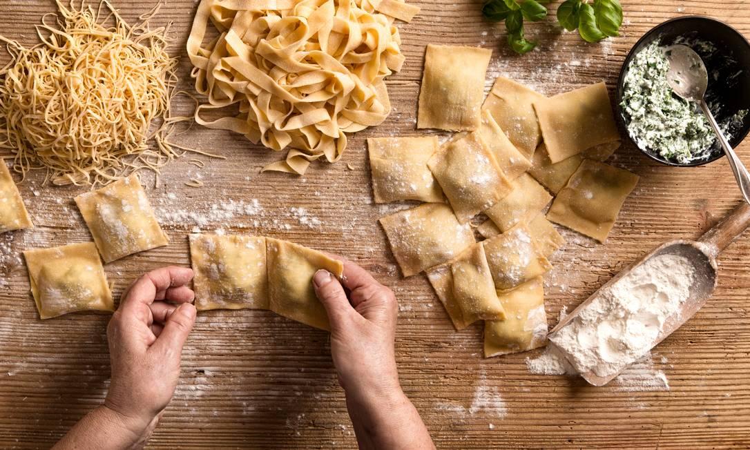 Curso Preparo de Massas Frescas e Recheadas do Senac RJ é indicado tanto para quem tem a gastronomia como hobby quanto para quem quer empreender no setor Foto: Getty Images