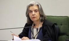 A ministra do STF Cármen Lúcia Foto: Nelson Jr./SCO/STF