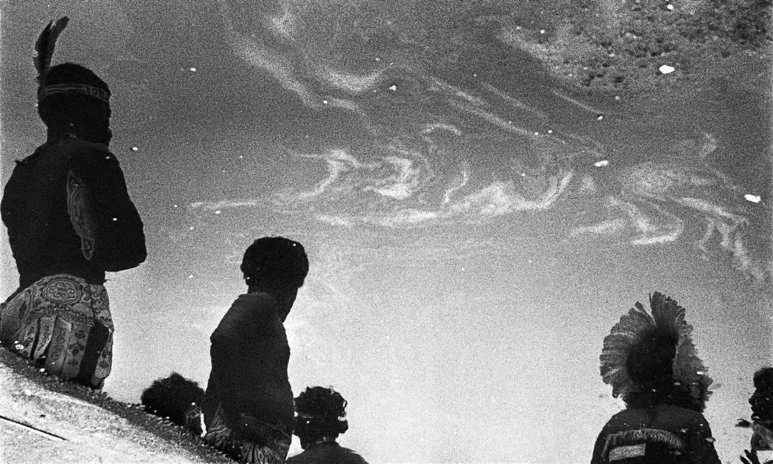 Foto da série 'Carnaval', feita de 1972 a 1976, por Carlos Vergara Foto: Carlos Vergara