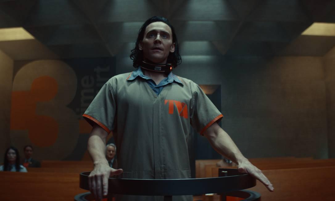 Loki é julgado por seus erros em 'Loki' Foto: Marvel Studios / Divulgação