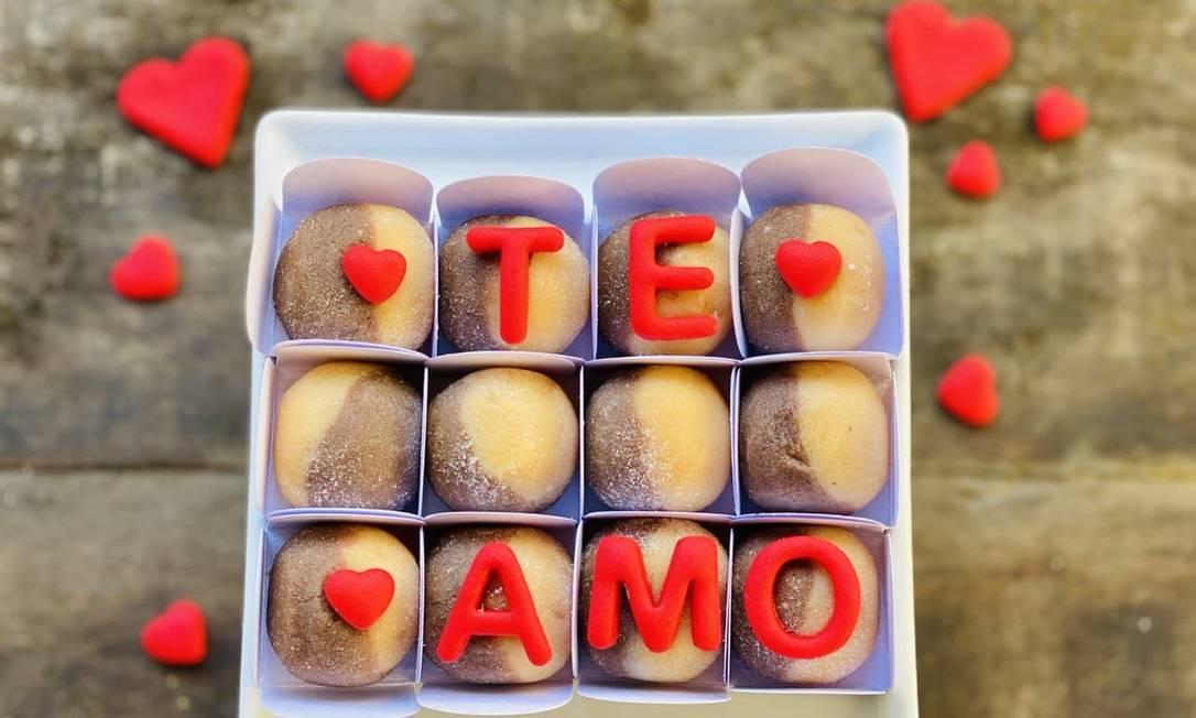 Cake & Co: caixa de docinhos Amor I Love You Foto: Divulgação