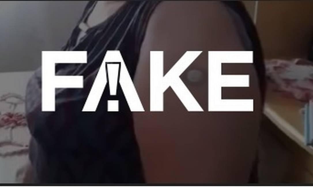É #FAKE que vacinas contenham ímãs e causem magnetismo Foto: Reprodução