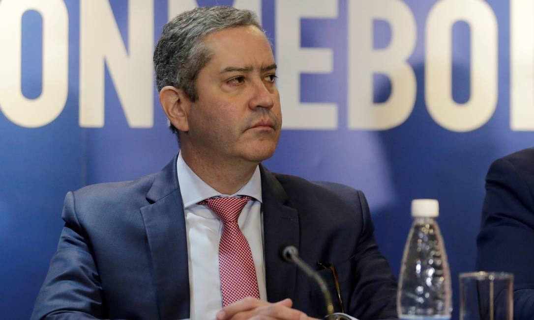 O presidente afastado da CBF, Rogério Caboclo Foto: JORGE ADORNO / REUTERS