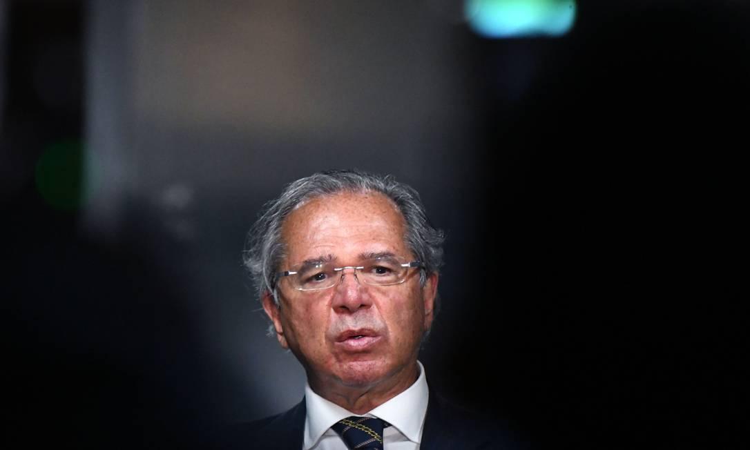 O ministro da Economia, Paulo Guedes, disse que vai propor uma modernização do Mercosul Foto: Edu Andrade / Ministério da Economia
