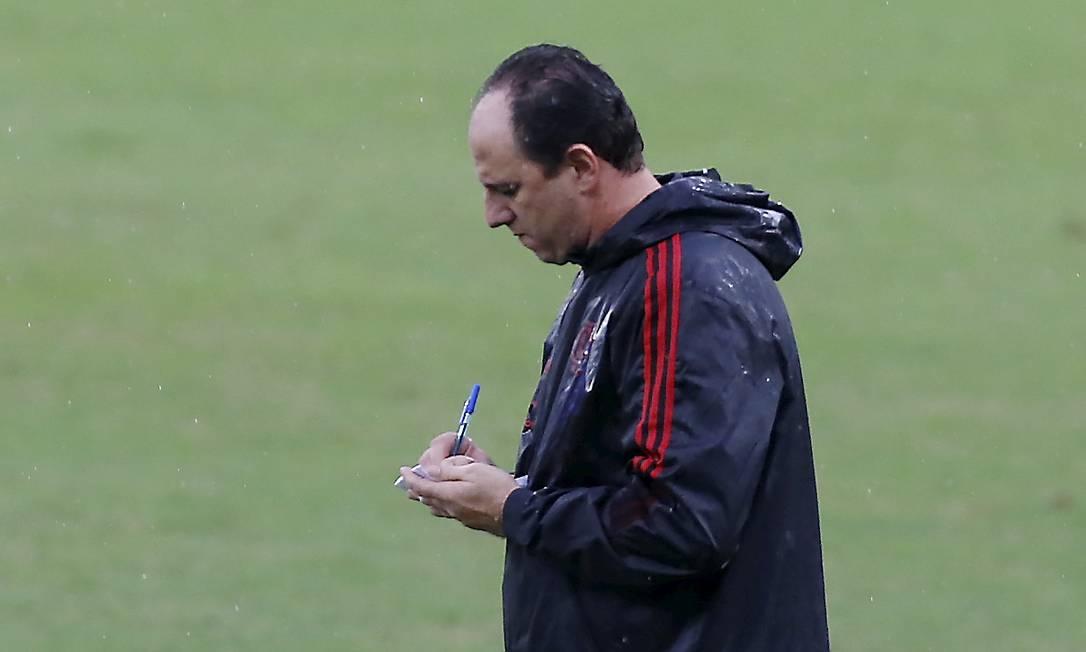 Rogério Ceni precisa de reforços no Flamengo Foto: Marcelo Theobald
