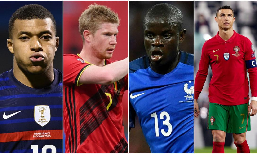 Eurocopa vira 'sprint' final pelo prêmio de melhor jogador do mundo Foto: 1