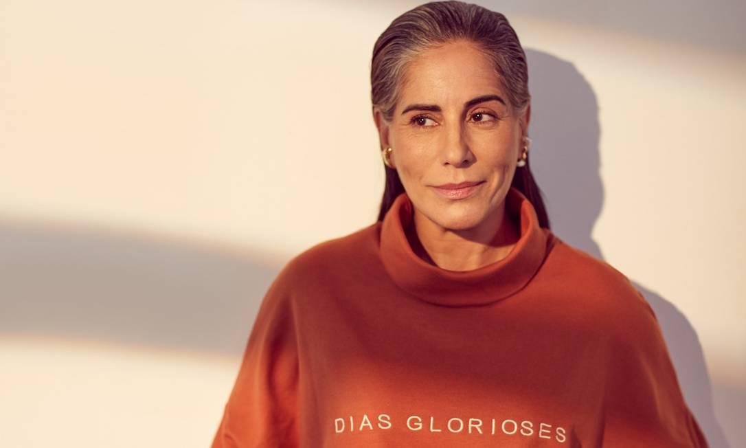 Glória Pires para a Revista ELA em 2020. Foto: Renan Oliveira / Arquivo