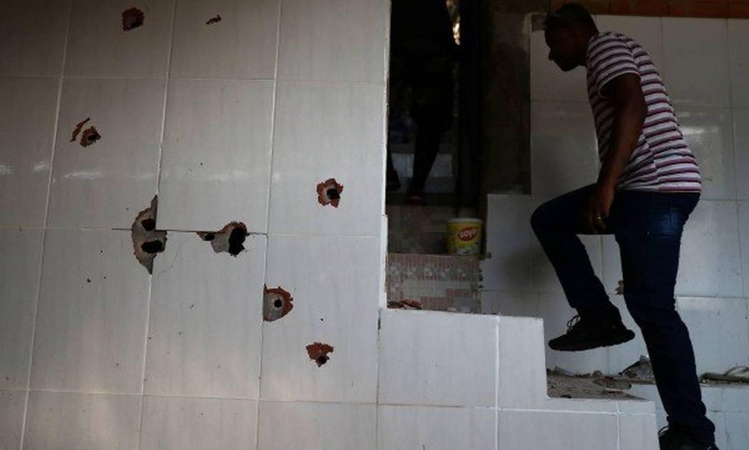 Morte de 13 pessoas no Morro do Fallet foi um dos casos de auto de resistência no estado em 2019 Foto: Pilar Olivares / Reuters