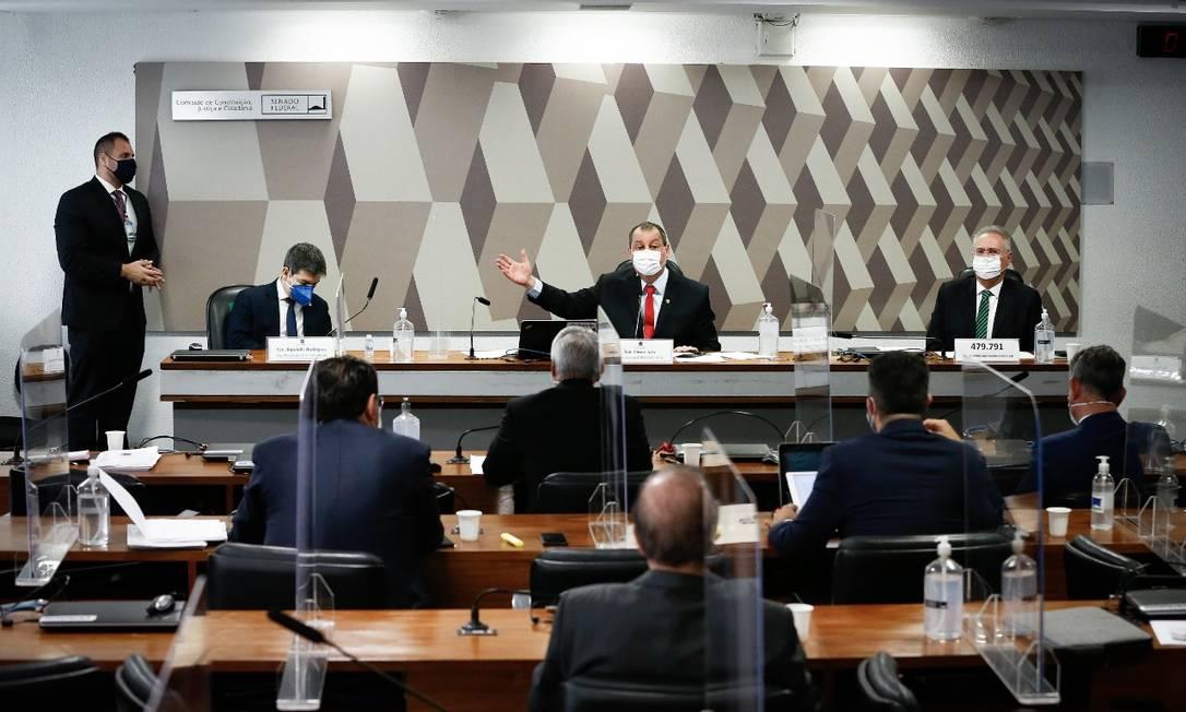CPI da Covid vota novas convocações Foto: Pablo Jacob/Agência O Globo