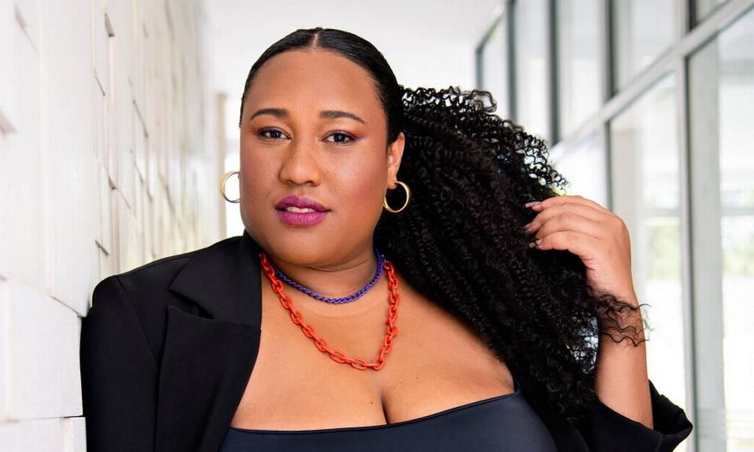 Luana Xavier cria uma rede de debates para falar de obesidade, racismo, arte e religião Foto: Mariana Maiara | Styling Milton Castanheira