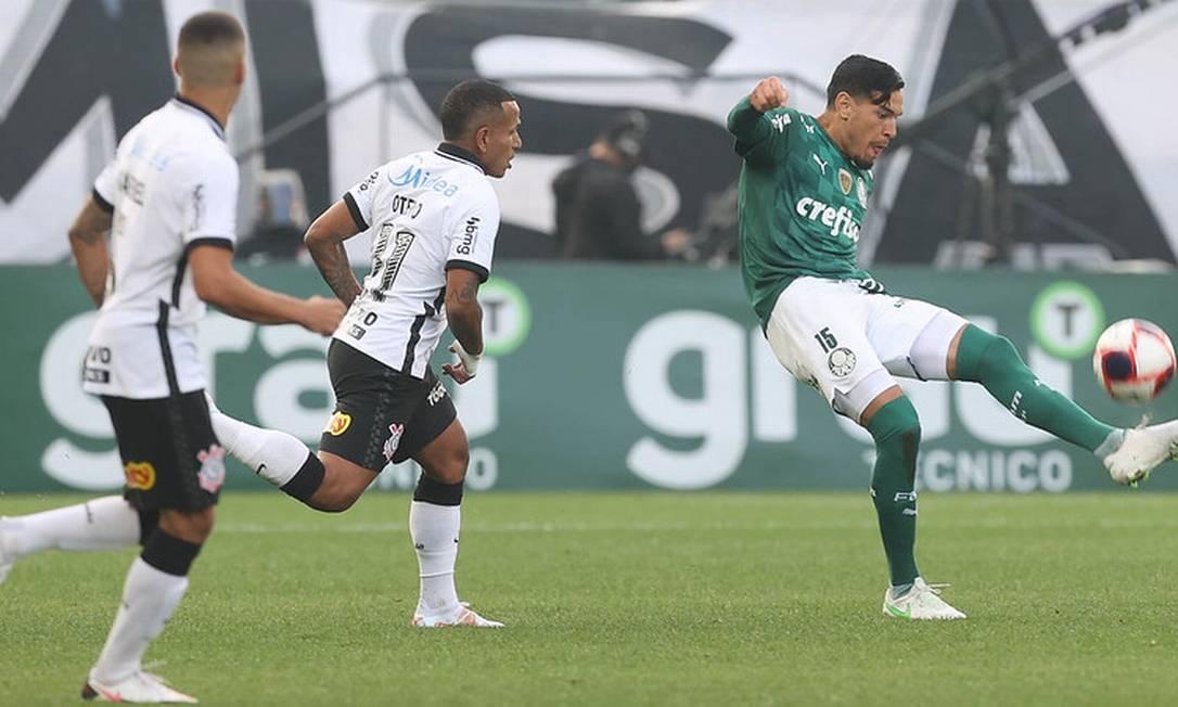 Palmeiras e Corinthians jogarão clássico pressionados por vitória Foto: Cesar Greco
