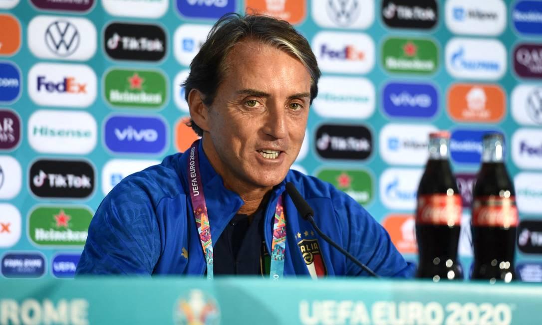 Roberto Mancini, Ct Italia Foto: UEFA / HANDOUT / AFP