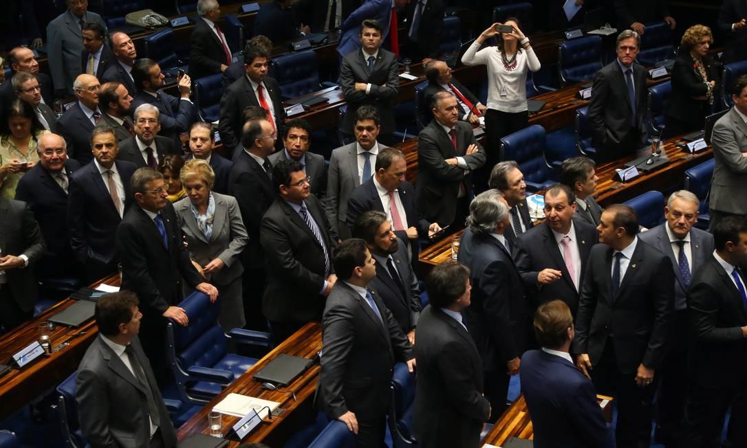 Senado aprova projeto de lei que regulamenta clube-empresa Foto: Ailton de Freitas / Agência O Globo