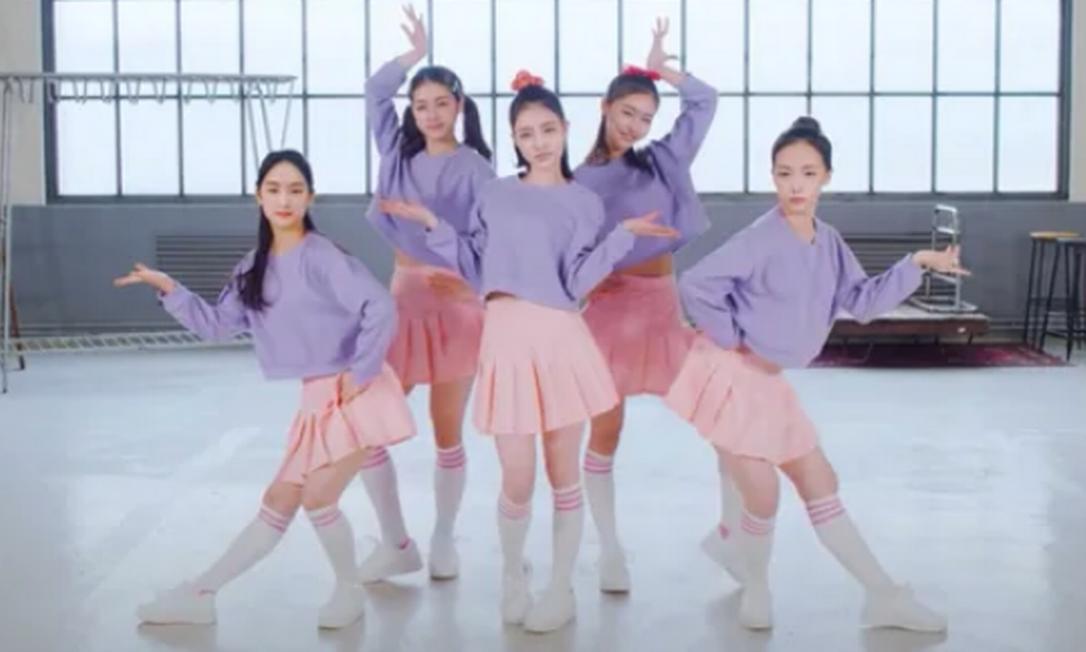 Grupo de K-pop Eternity é composto apenas por idols virtuais Foto: Divulgação / Pulse9