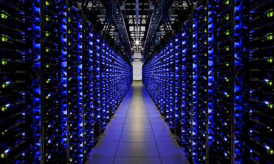 Os sistemas que controlam os data centers do Google já usam o aprendizado por reforço para mantê-los nas melhores condições. Foto: Imagem cedida pelo Google/ Via El País