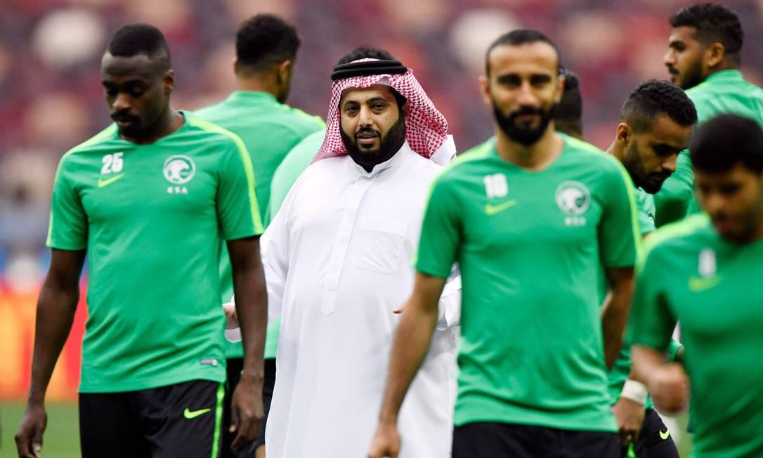 Governo saudita quer Copa do Mundo no país Foto: ALEXANDER NEMENOV / AFP