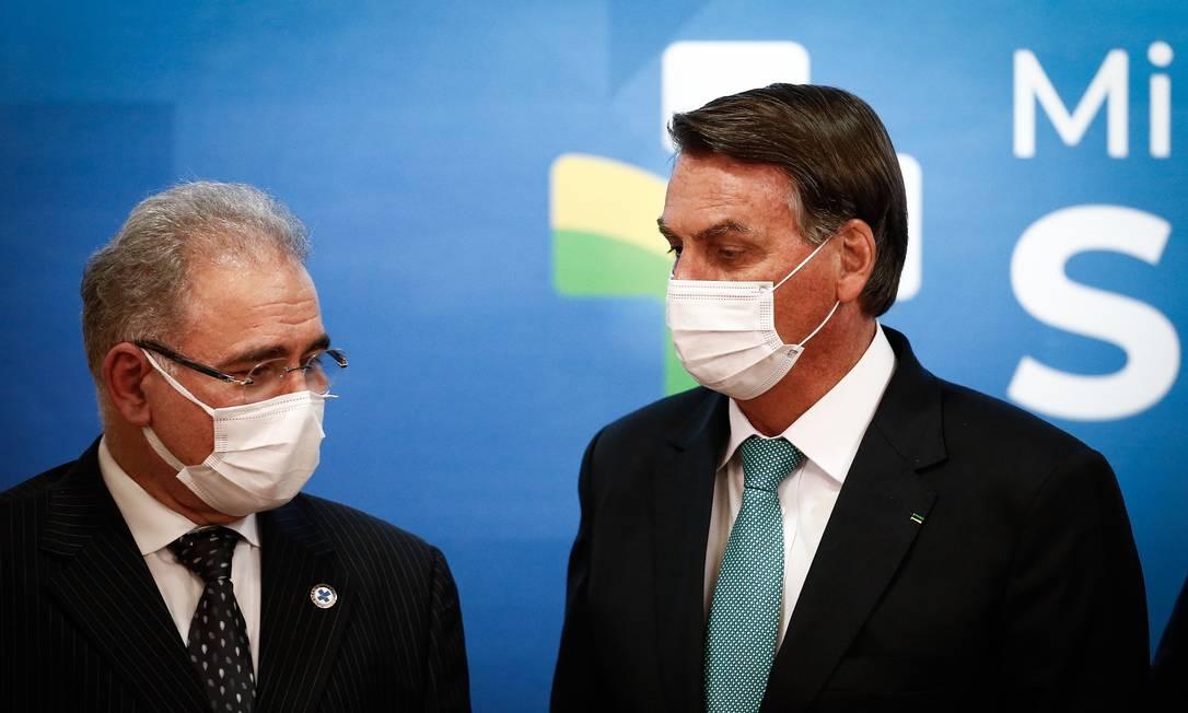 Bolsonaro diz que mandou investigar suposta diferença de preço na CoronaVac  - Jornal O Globo