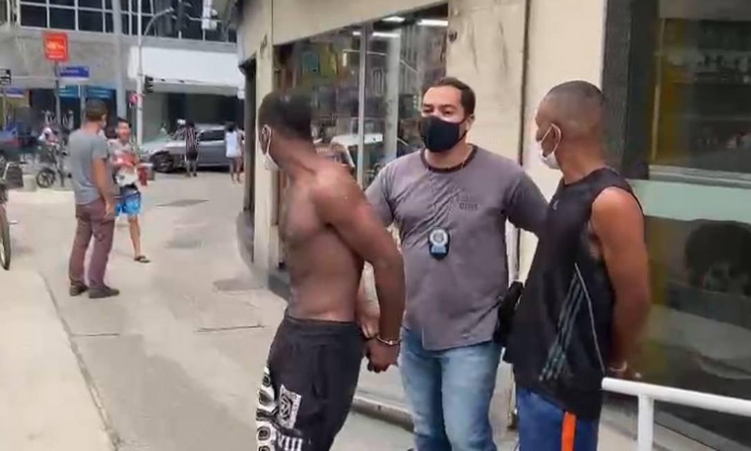 Integrantes de quadrilha especializada em roubo de joias são presos na Zona Sul do Rio Foto: Divulgação