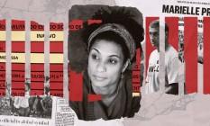 Caso Marielle: vereadora foi morta em março de 2018 Foto: Editoria de Arte