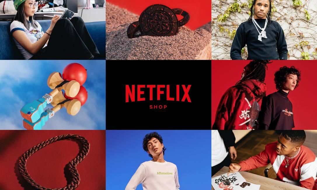 Netflix finca bandeira no e-commercie para abrir novas fontes de receita. Foto: Divulgação