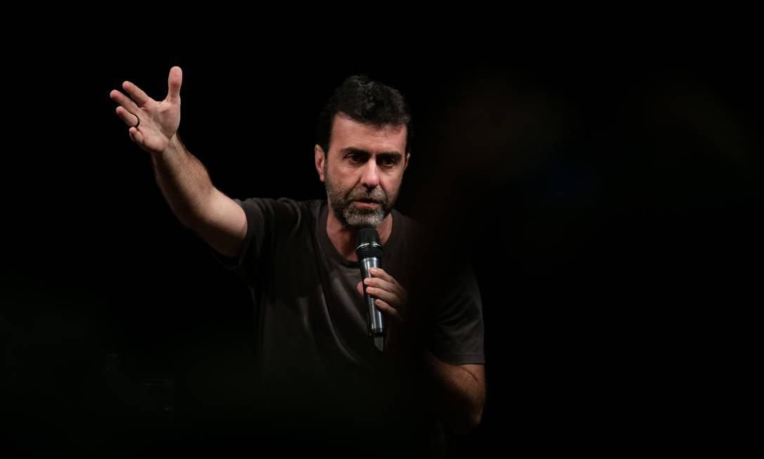 O deputado federal Marcelo Freixo (PSOL-RJ), em foto de janeiro de 2020: parlamentar quer concorrer ao governo do Rio em 2022 Foto: Roberto Moreyra / Agência O Globo