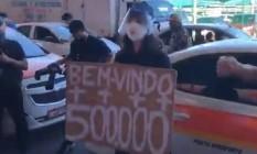 """""""Sentimento de impotência"""" foi o que motivou ida de Maria Clara ao Aeroporto de Vitória Foto: Reprodução"""