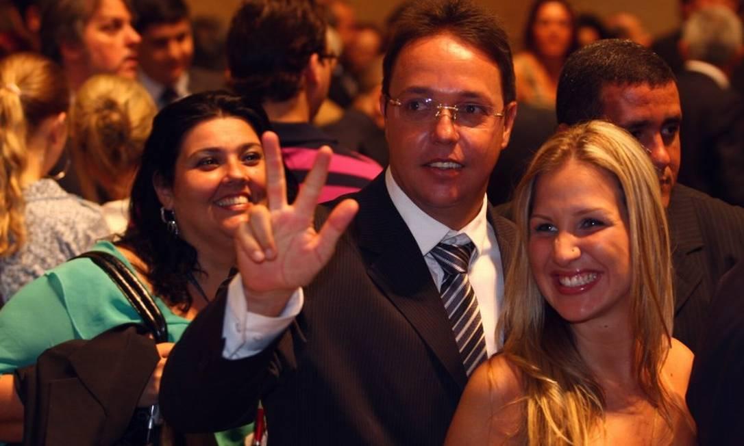 Girão ao tomar posse como vereador do Rio em 01-01-2009 Foto: Michel Filho / Agência O Globo