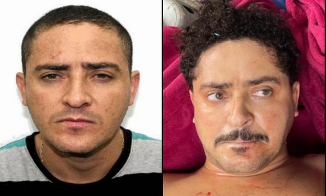 Mais cabelo, bigode e peso: veja as mudanças no visual de Ecko Foto: Reprodução