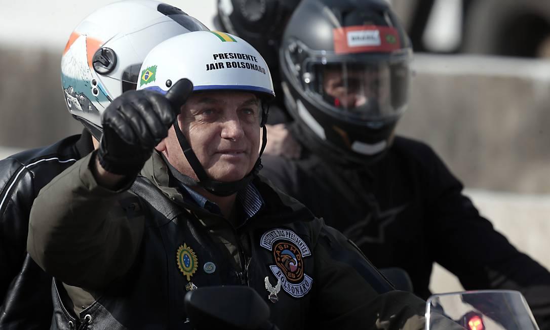 Bolsonaro participa de ato com motociclistas em São Paulo - Jornal O Globo