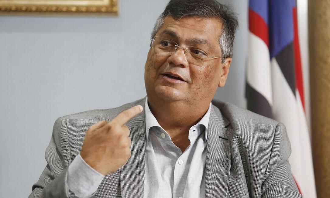 O governador do Maranhão, Flávio Dino (PCdoB) Foto: Denio Simões