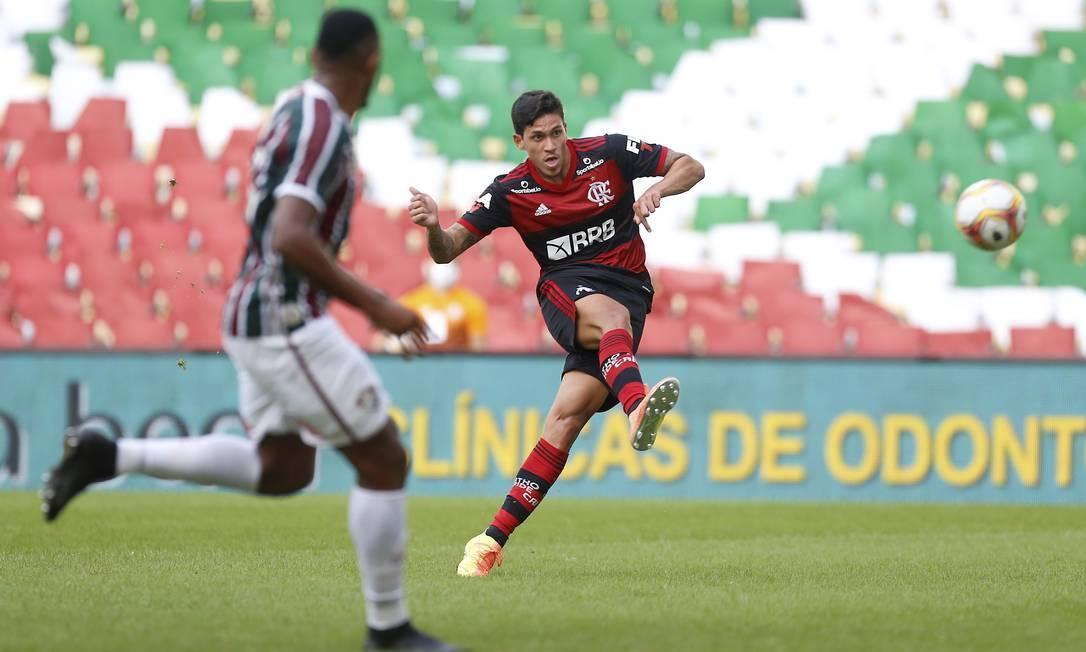 Pedro testou positivo para Covid-19 Foto: Marcelo Theoblad / Agência O Globo