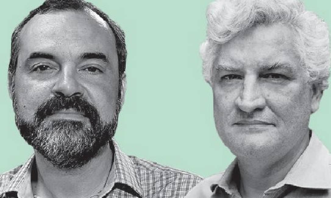 Concordamos em discordar: Fábio Kerche e Oscar Vilhena debatem sobre lista tríplice para cargos públicos Foto: Editoria de Arte