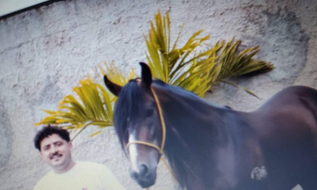 Ecko tinha paixão por cavalos Foto: Reprodução
