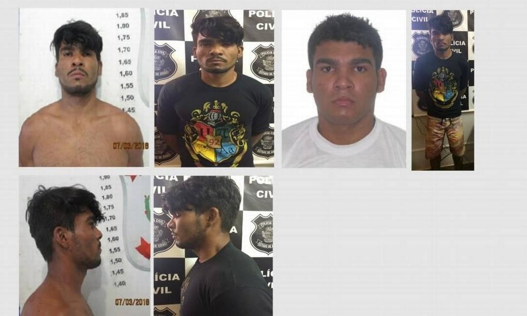 A polícia divulgou fotos de Lázaro Barbosa Foto: Polícia Civil DF