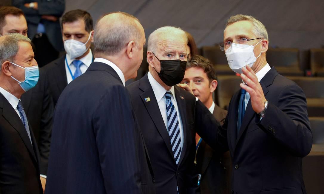 Em cúpula com Biden, Otan diz pela primeira vez que China é 'desafio  sistêmico' - Jornal O Globo