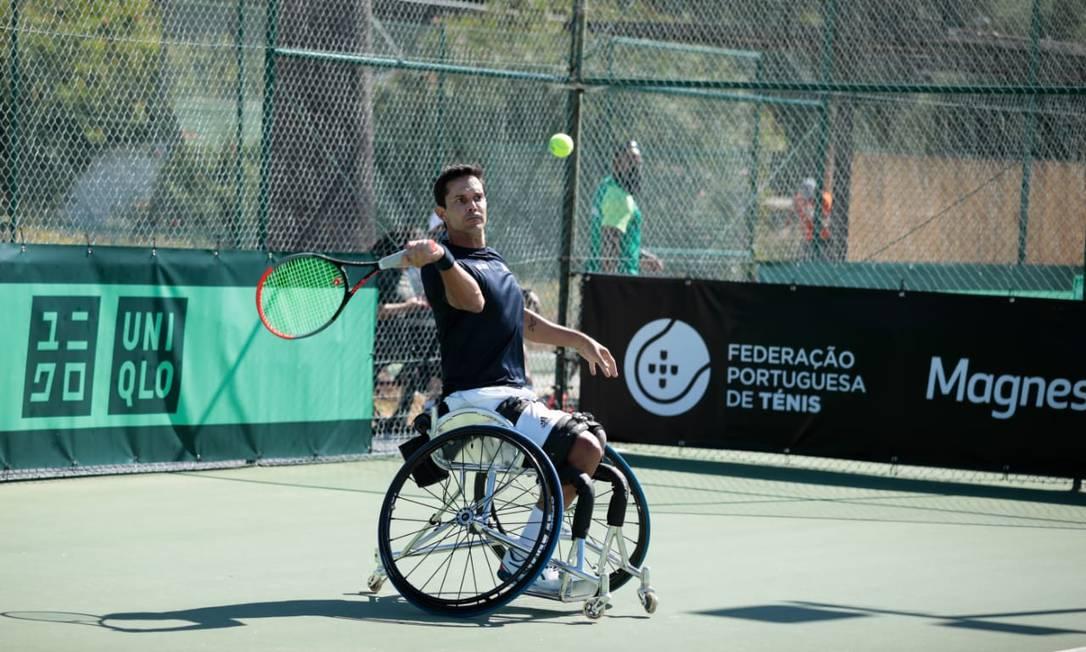 Gustavo Carneiro na classificatória para o Mundial em Portugal Foto: Mariana Guimarães