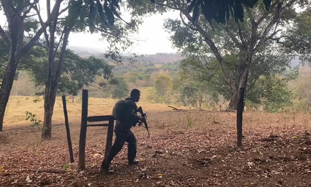 Buscas por autor de chacina no Distrito Federal duram mais de uma semana Foto: Divulgação / Secretaria de Segurança Pública de Goiás