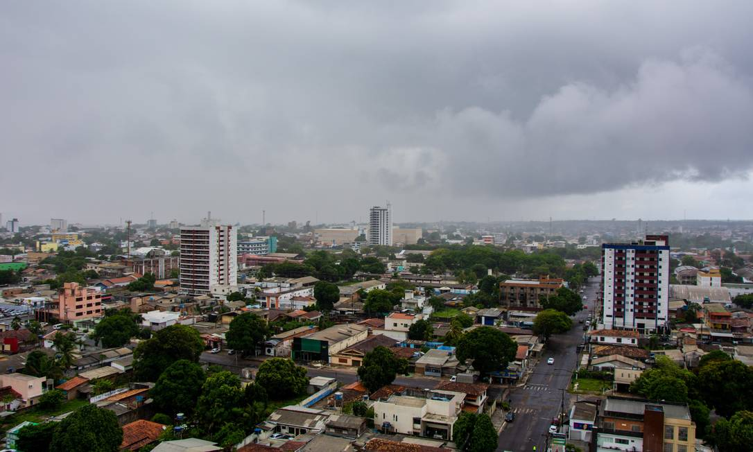 Na capital do estado, Macapá, em alguns bairros fornecimento de energia foi reestabelecido em 30 minutos Foto: Maksuel Martins/24-11-2020