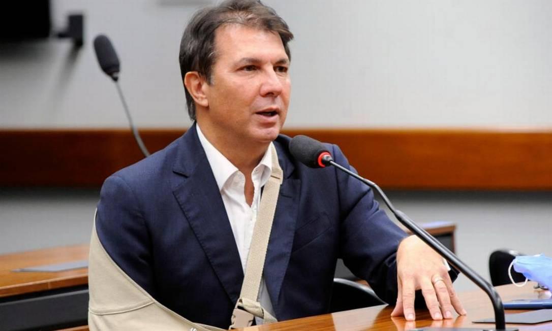 Deputado Arthur Maia (DEM-BA) é o relator da reforma administrativa na comissão especial da Câmara Foto: Gustavo Sales/Câmara dos Deputados