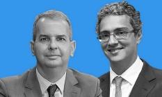 Ubiratan Cazetta, presidente da ANPR, e Gustavo Schmidt, advogado e professor da FGV-Rio: debate sobre lei de improbidade Foto: Montagem com fotos de divulgação