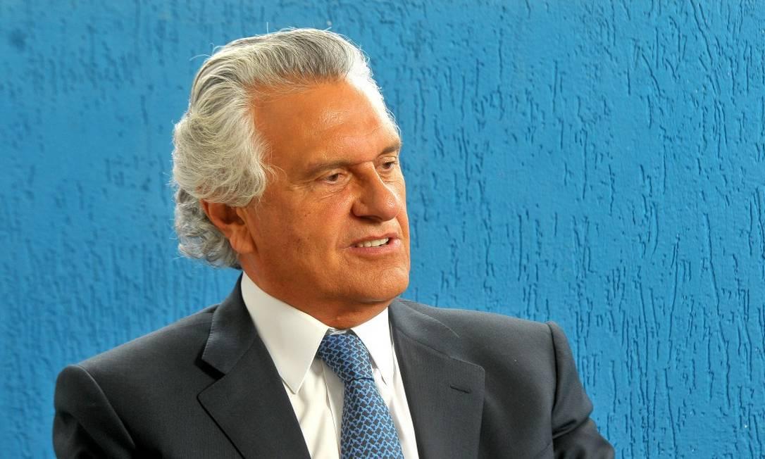 Governador de Goiás, Ronaldo Caiado (DEM) Foto: Ruy Baron / Agência O Globo