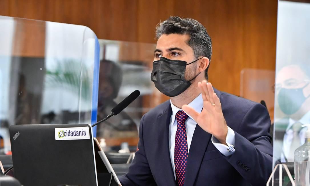 O senador Marcos Rogério (DEM-RO) Foto: Waldemir Barreto / Agência Senado