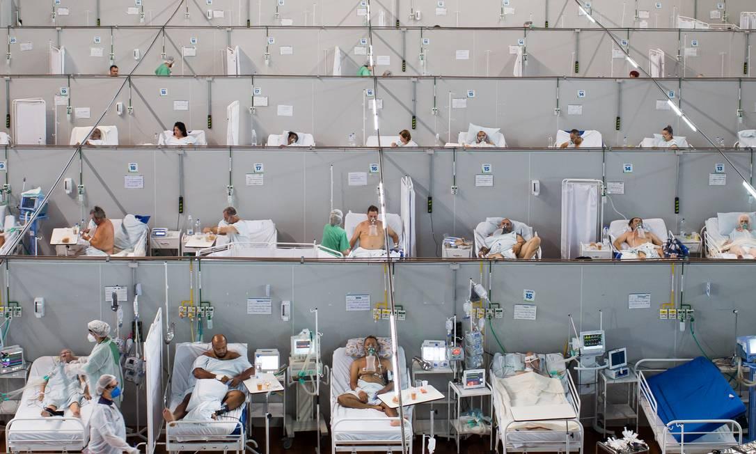 Estudo com remédio para artrite indica que ele pode reduzir problema em pacientes em casos graves Foto: Edilson Dantas / Agência O Globo (25/03/2021)